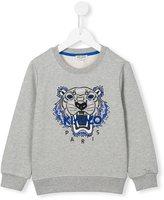 Kenzo 'Tiger' sweatshirt - kids - Cotton/Spandex/Elastane - 5 yrs