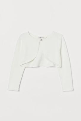 H&M Fine-knit bolero