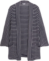 Splendid Striped stretch-knit cardigan