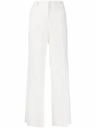 Alberto Biani High-Waisted Flared Trousers