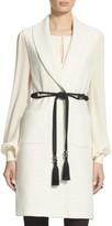 St. John Yani Shawl Collar Knit Vest