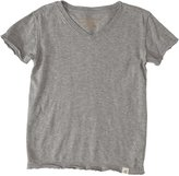 Burt's Bees Baby Reversible V-Neck Tee (Toddler/Kid) - Sand Heather-4T