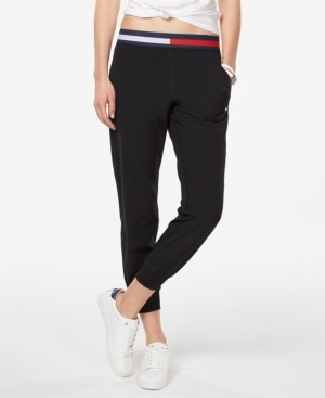 Tommy Hilfiger Logo-Waistband Joggers