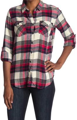 Thread and Supply Aiden Plaid Tunic Shirt