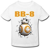 Seico Kids tee shirt Seico Stay Cute BB8 Robot T-shirt For Unisex Toddlers 4 Toddler