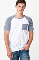 On The Byas Argyle Raglan Pocket T-Shirt