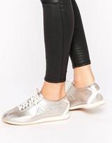 Le Coq Sportif Rose Gold Metallic Wendon Sneakers