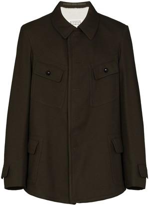 Maison Margiela Button-Up Military Jacket
