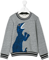 Paul Smith teen logo print sweatshirt - kids - Cotton/Polyester - 16 yrs