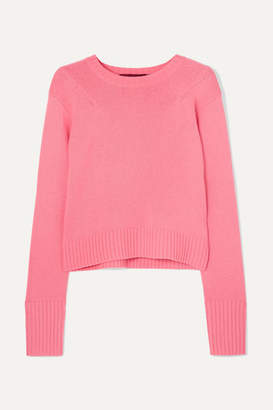 Sies Marjan Wool And Cashmere-blend Sweater - Pink