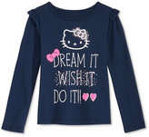 Hello Kitty Graphic-Print T-Shirt, Little Girls (2-6X)