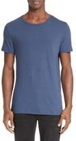 ATM Anthony Thomas Melillo Men's Jacquard Stripe T-Shirt