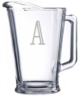 The Well Appointed House Personalized Glass Pitcher