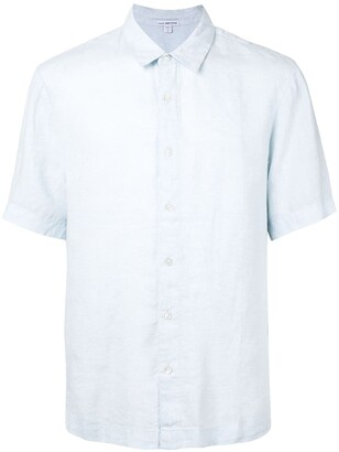 James Perse Short Sleeve Linen Shirt