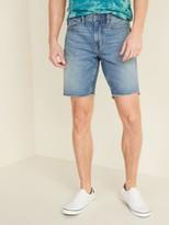 Old Navy Slim Built-In Flex Cut-Off Jean Shorts for Men -- 9-inch inseam