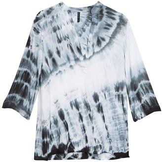 BOHO ME Tie Dye Cover-Up Tunic