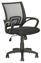 CorLiving Workspace Mesh Back Office Chair Black