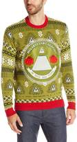 Blizzard Bay Men's Illuminati Ugly Christmas Sweater