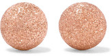 Carolina Bucci 18-karat Rose Gold Earrings - one size