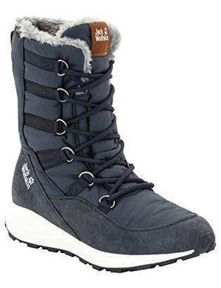 Jack Wolfskin Women's Nevada Texapore HIGH Waterproof Winter Boot with Fleece Lining Snow