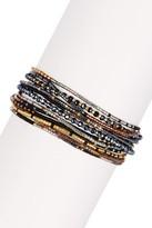 Chan Luu Multi Strand Seed Bead Bracelet