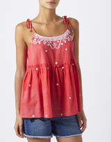 Monsoon Rosie Embroidered Cami Top