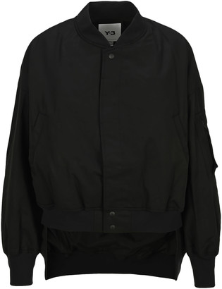 Y-3 Adidas Y3 Graphic Bomber Jacket