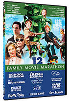 Mill Creek Entertainment Family Movie Marathon 12-Film Collection Three-Disc DVD Set