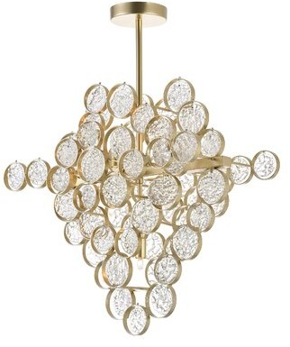 Anastasia Beverly Hills CWI Lighting 7 - Light Unique / Statement Geometric Chandelier CWI Lighting