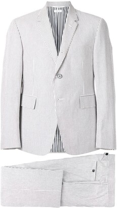 Thom Browne Seersucker Suit With Tie