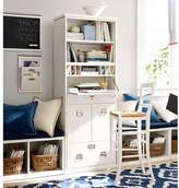 Pottery Barn Bedford Office Work Tower, Antique White