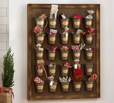 Pottery Barn Gilt Galvanized Advent Calendar