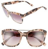 Derek Lam Women's Hudson 52Mm Gradient Sunglasses - Black Brown