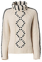 Exclusive for Intermix Isla Velvet Thread Turtleneck