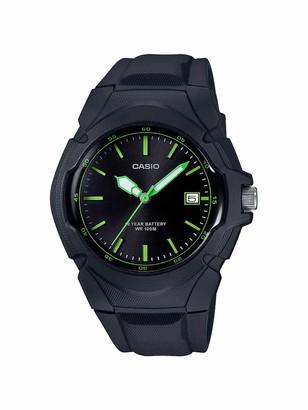 Casio Women's Sporty Stainless Steel Quartz Watch with Resin Strap