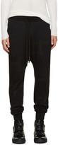 11 By Boris Bidjan Saberi Black T Pattern Lounge Pants