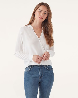 Splendid Summit Silk Long Sleeve Top