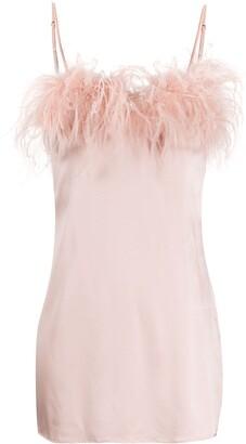 Gilda & Pearl Camille satin slip dress