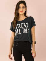 Signorelli Vacay All Day Tee in Shadow