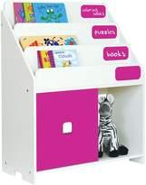 P'kolino Kids Chalkboard Bookshelf, Fuchsia