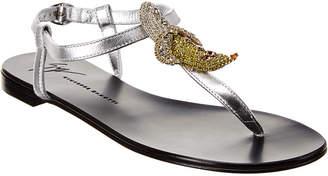 Giuseppe Zanotti Tropical Hali Leather Sandal