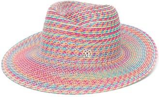 Maison Michel Woven Effect Sun Hat
