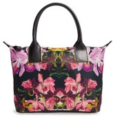Ted Baker Small Lost Gardens Tote - Black