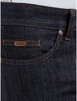 Hugo Boss Boss Green C-delaware Slim Fit Resin Finish Jeans, Navy