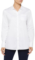 Tommy Hilfiger Arwin Pique Trim Shirt Ls A-Line