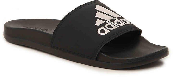 official photos 081c9 994ab adidas Black Slide Women s Sandals - ShopStyle