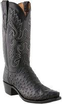 Lucchese 1883 Men's Cowboy Boots N1063.54 Ostrich BurnPin/ Burn