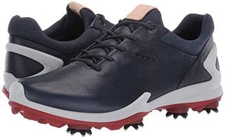 Ecco BIOM G 3 (Shadow White/Dark Petrol) Men's Golf Shoes