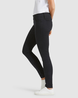 Jeanswest Women's Black Skinny - Hip Hugger Skinny Jeans Black Night - Size One Size, 11 Regular at The Iconic