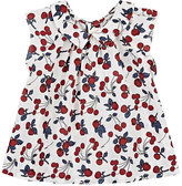 Bonpoint Cherry-Print Cotton Blouse